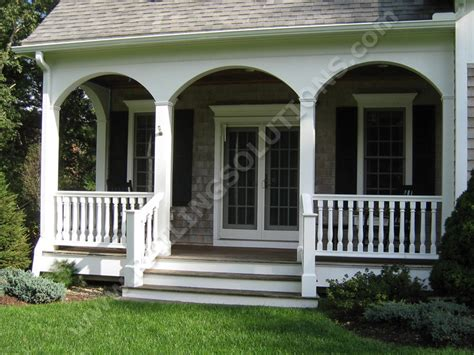 Porch Railing Designs Premium Railing And Baluster Systems For Deck Porch And