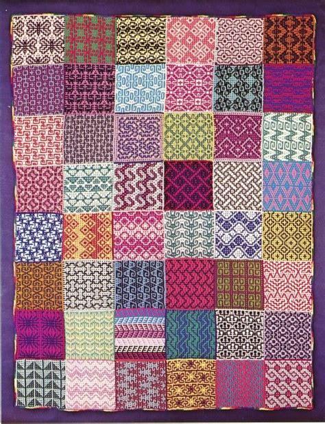 mosaic pattern books 151 best mosaic knitting images on pinterest knitting