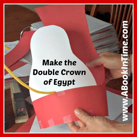 pharaoh crown template make an ancient crown craft for on