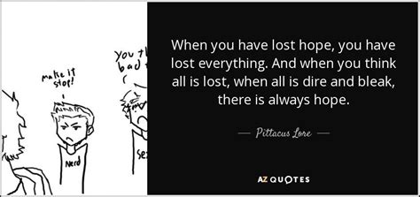 You Lost A Thing Quotes