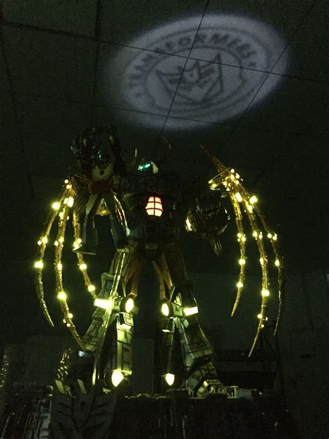 let there be light near me unicron light up statue l update let there be light