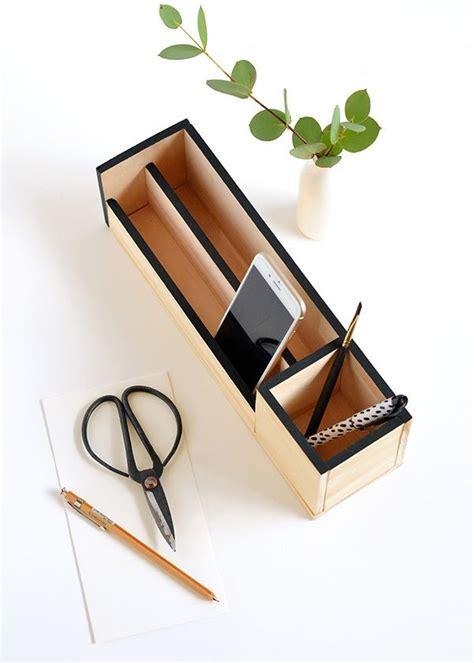 Deko Aus Papier 2779 by Make It Minimal Wood Desk Organizer Diy Geschenke F 252 R