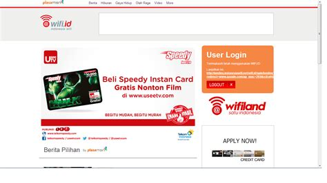 Wifi Speedy Instan cara internetan gratis dengan speedy instan wifi dijamin 100 gratis eziz