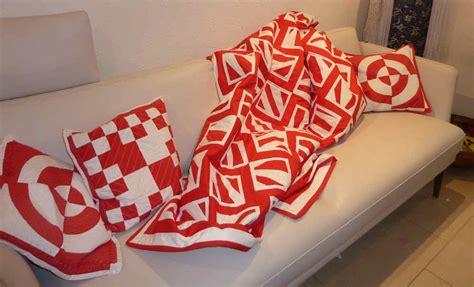 Kissen Mit Decke by Sofadecke 187 Bernina