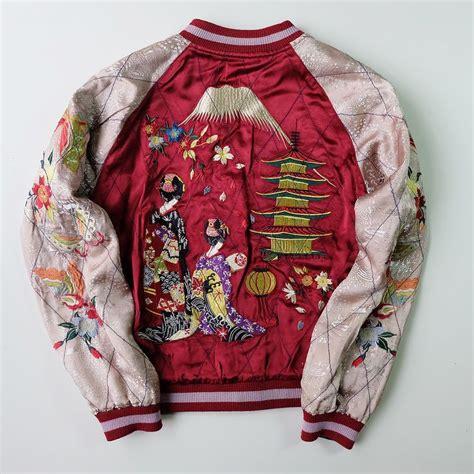 Cherry Hinata Flower Kimono 101 best baseball jackets images on baseball jackets bomber jackets and jackets