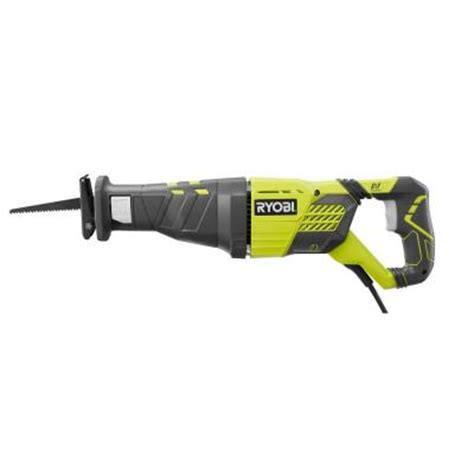 ryobi 10 reciprocating saw rj185v the home depot