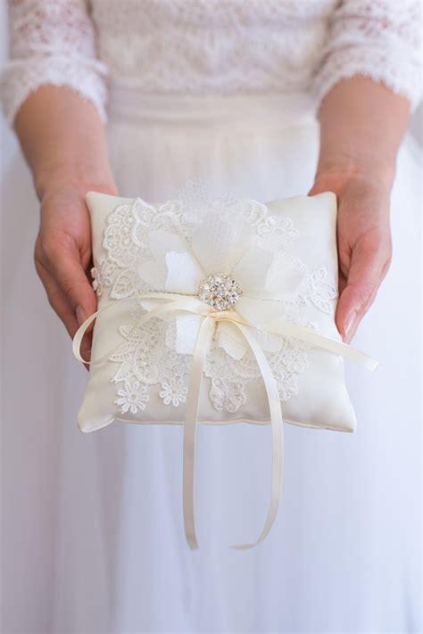Handmade Ring Bearer Pillow - items similar to handmade wedding ring bearer pillow