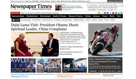 theme newspaper free magazine3 newspaper times wordpress theme 187 themelock com
