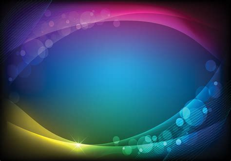 bokeh light background two vector free vector