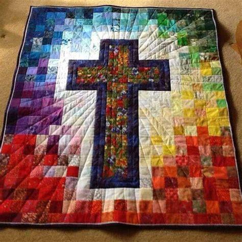 Quilt Pattern With Cross | cross quilt so s e w pinterest cross quilt