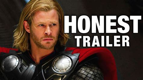 youtube thor movie honest trailers thor youtube