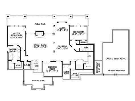 4 bedroom ranch house plans with walkout basement 4 bedroom ranch house plans with walkout basement photos