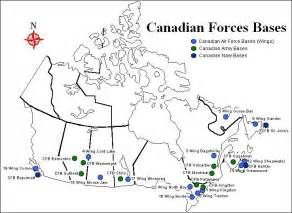 canadian forces bases in canada