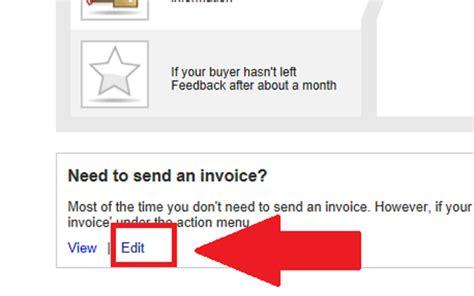 ebay invoice template change ebay invoice template invoice template 2017