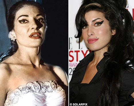 maria callas eyeliner did amy winehouse steal her style from maria callas