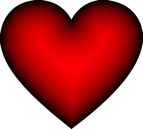 image with hearts clipart crimson