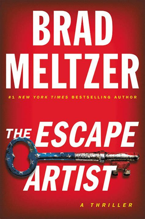 the escape artist books the escape artist by brad meltzer hardcover