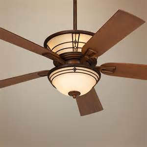 52 quot fairmont aged bronze ceiling fan like this one has great arts and crafts style our new