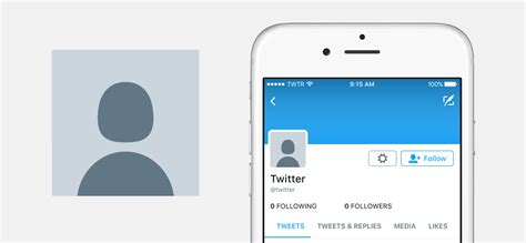 new twitter layout on iphone rethinking our default profile photo