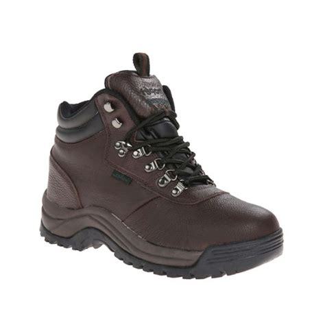 rugged outdoor boots propet rugged walker s waterproof leather hiking boots