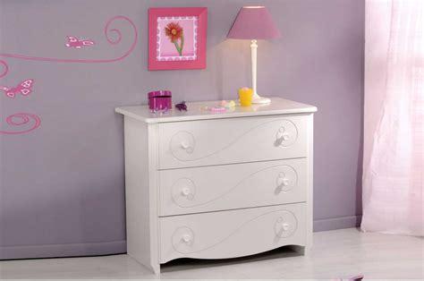 meuble commode chambre meuble commode fille laqu 233 blanc trendymobilier com