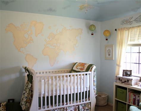 Travel Themed Nursery Decor Travel Themed Gender Neutral Nursery Project Nursery