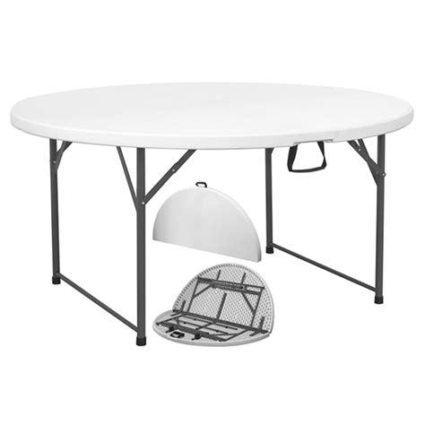 tavolo plastica pieghevole tavolo pieghevole tondo catering mondobrico