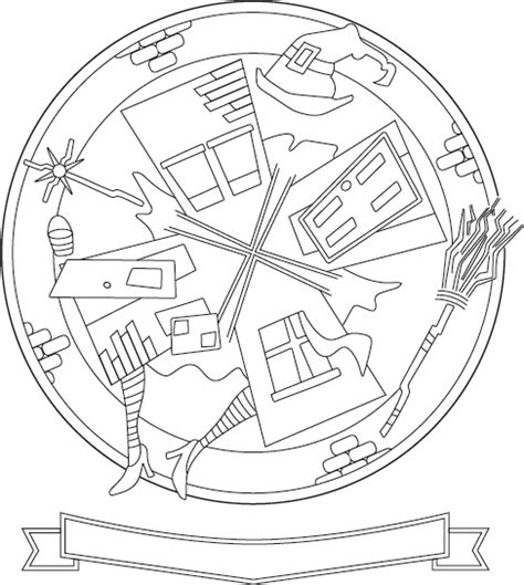 coloring pages oz witch wicked witch oz coloring pages www imgkid com the