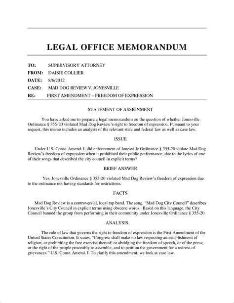 office of legal memorandum exle pictures to pin on