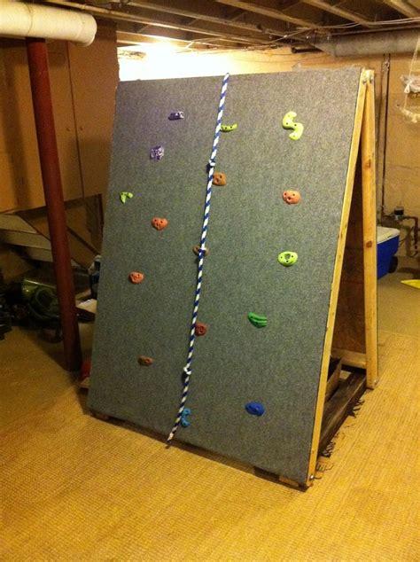 diy outdoor climbing wall build you own indoor rock climbing wall diy avenue