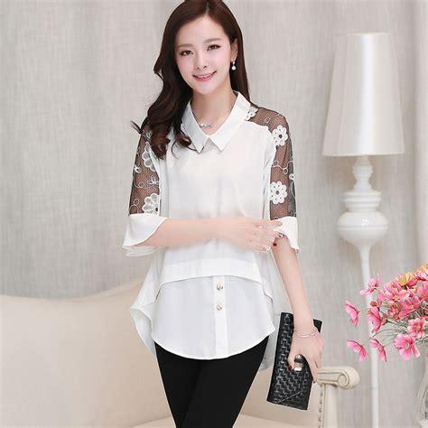 blusas modelo 2016 blusas para gorditas 187 blusas de encaje 2016 6