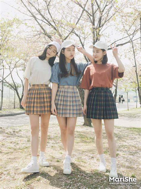 Sepatu High Heels Manis Gaya Korea 8 ide berpakaian khas cewek korea bisa ditiru karena lucu