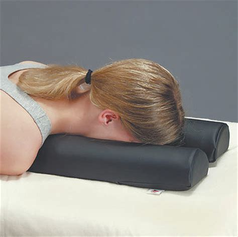 massage bed pillow max relax face cushion colonialmedical com