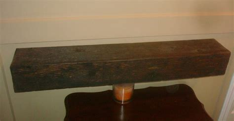 barn wood beam shelf by kiefer lumberjocks