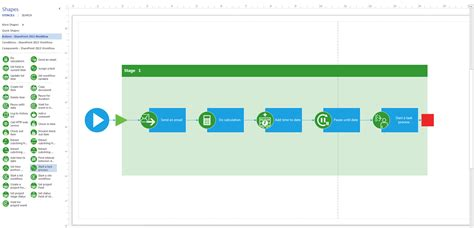 creating workflows visio 2013 preview creating workflows for sharepoint2013
