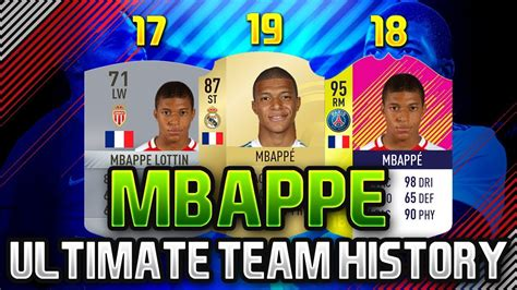 kylian mbappe in fifa 17 kylian mbappe fifa ultimate team history fifa 17 fifa