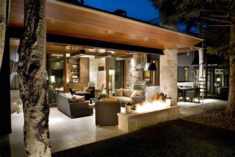 modern home design outdoor lawn garden home design modern outdoor fireplace ideas