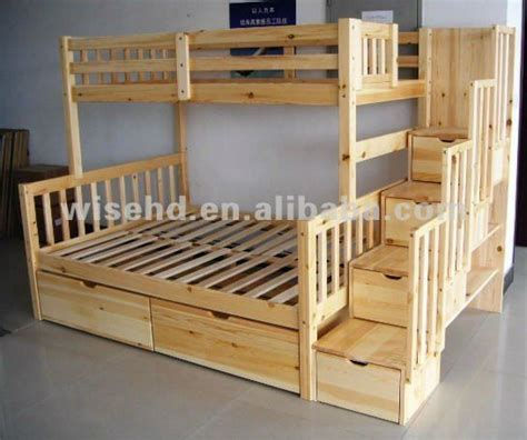 bunk beds with queen on bottom love the built bunk beds stairs and extra storage and