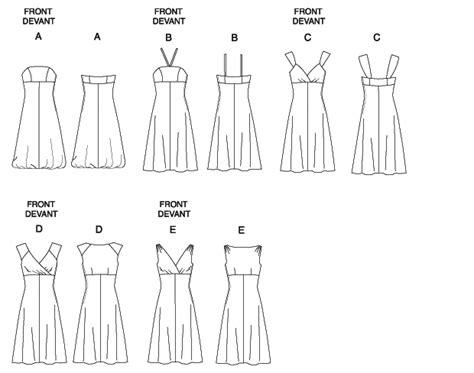 empire line pattern making butterick 5461 misses women s dress