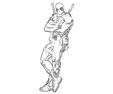 marvel deadpool coloring pages marvel vs capcom deadpool armour yumiko fujiwara