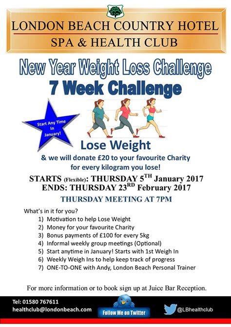 challenges to lose weight weight loss challenges
