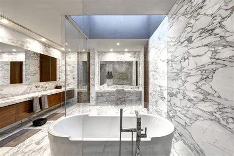 Arabescato Marble Bathroom   StoneADD Photo
