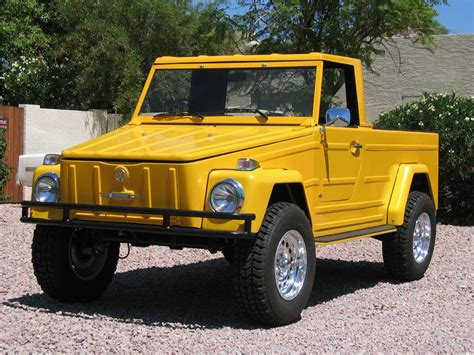 volkswagen pickup 1973 volkswagen thing pickup 43364