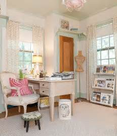 shabby chic office 30 gorgeous shabby chic home offices and craft rooms
