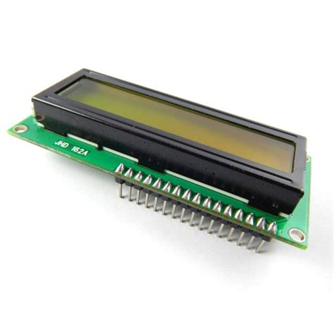 Lcd 16x2 lcd 16x2 with header pin and green back light