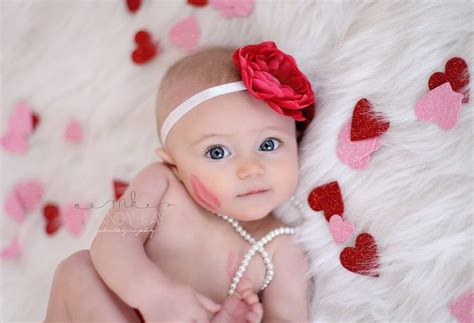newborn valentines day 6 month baby picture ideas pinpoint