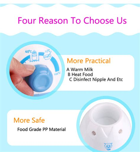 Baby Safe Milk And Warmer T1310 7 baby multifunctional bottle milk warmer disinfect thermostat heater alex nld