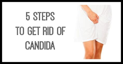 Healthy Steps To Get Rid Of by 5 Steps To Get Rid Of Candida Holistic