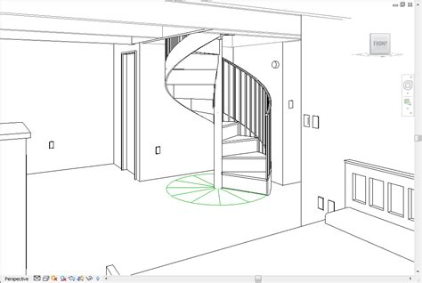 Ibc Stair Design by Revitcity Com Spiral Stair