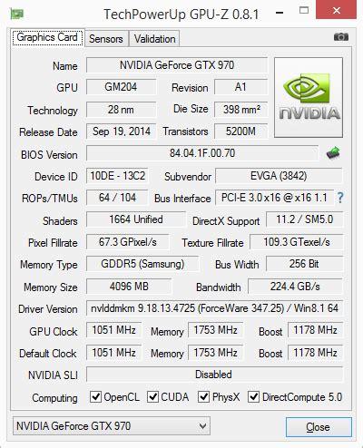 geforce gtx 970: correcting the specs & exploring memory